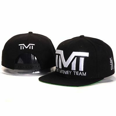 TMT Money Floyd Mayweather Snapback TBE - Black and White