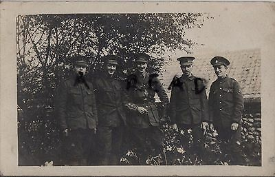 WW1 soldier group 5th & 6th Battalion Kings Liverpool Regiment in France