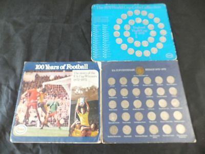 Complete 1970 World Cup coin collection & FA Cup Centenary Coins 1872 -1972