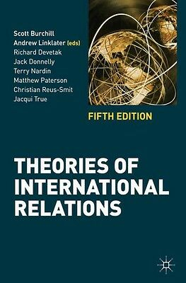 Theories of International Relations Fifth Edition Burchill (Paperback, 2013)