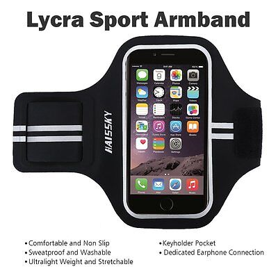Haissky Sweat Proof Sport Running Case Armband for Iphone 6 Plus 6s Plus 5.5Inch