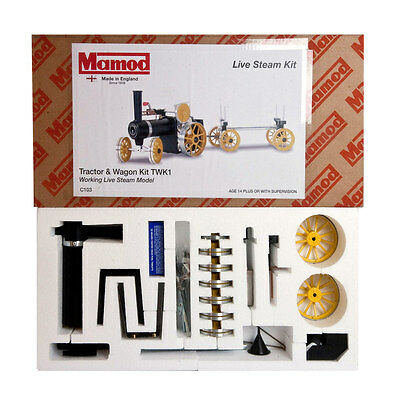 Mamod Steam Tractor and Trailer Kit TWK1