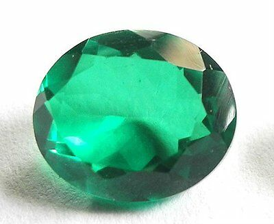 3.5 Ct Certified Emerald In Excellent loose Ovel Shape