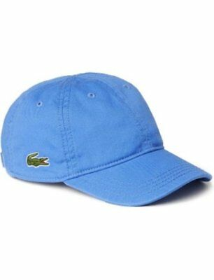 Lacoste boys pale blue adjustable cap approx age 2-5 years