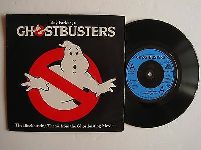 """RAY PARKER JR. - GHOSTBUSTERS - 7"""" 45 rpm vinyl record"""