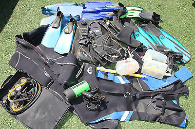 Job Lot Of Scuba And Diving Equipment. (Pick Up Only)