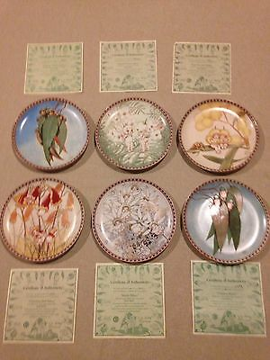 May Gibbs Gumnut Babies Limited Edition Plates Complete Set Of 6