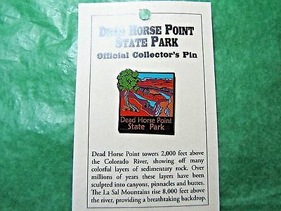 Dead Horse Point State Park Lapel Hat Pin Utah Travel Souvenir-Lp2