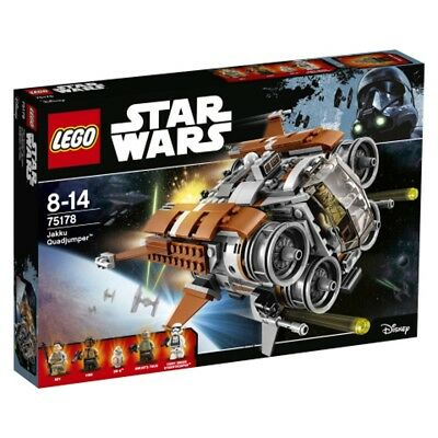 Lego Starwars Jakku Quadjumper 75178 Lego Star Wars Toy Spaceship