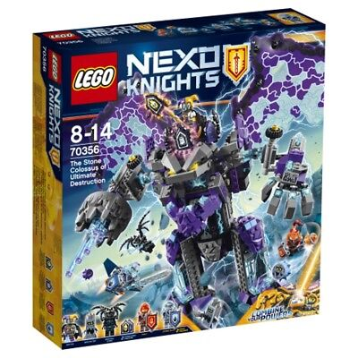 Lego Nexo Knights Of The stormy Stone colossus 70356 Lego Toys from 8 Years
