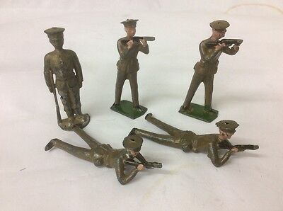 Toy Soldiers Britains Hollow Cast Lead British Ww1