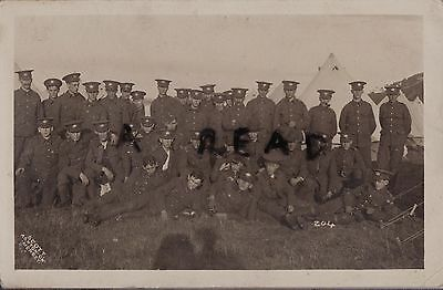 Soldier Group Glosters Gloucestershire Regiment Conway ? Camp 1911