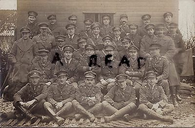 WW1 Officer Group ASC Army Service Corps in France inc French Interpreter ?