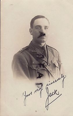 WW1 Officer ACC Army Cyclist Corps in France or Egypt