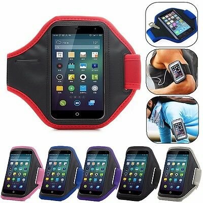 Running Sports Gym Jogging Cycling Armband Cover Arm Holder Case For Cell Phone
