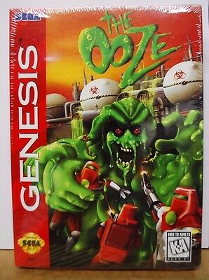 Ooze (Sega Genesis, 1995). Brand New and Factory Sealed.