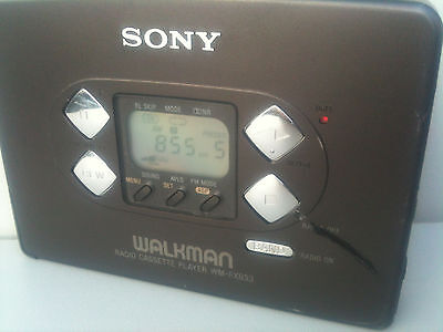 Sony WM-FX833 Walkman Radio Cassette Player Groove,band AM/FM/TV sold in Japan