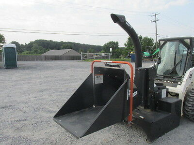 2011 Bobcat WC-5A Wood Chipper Attachment For Skid Steer Loaders!