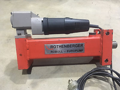 Rothenberger Robull - Hydraulic Pipe & Tubing Bender