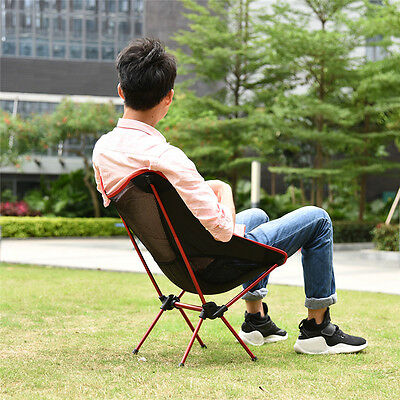 Portable Barbecue Fishing Quick Folding Chair Seat Stool Travel Camping Hot