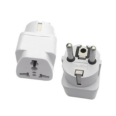 Reiseadapter Welt auf EU US / WORLD to EU Travel Adapter Reise Stromadapter