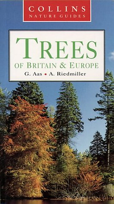 Collins Nature Guide - Trees of Britain and Europe, Good Condition Book, Riedmil