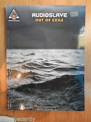 Audioslave - Out of Exile  song book guitar tab