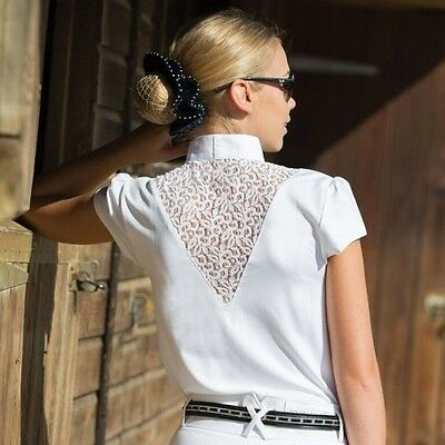 Equetech Bella Lace Competition Shirt - Quality Equestrian Competition Shirt
