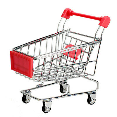 Kids Childrens Supermarket Trolley - Miniature - Shopping - Play Toy - BRAND NEW