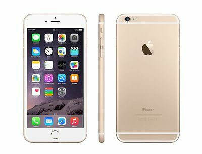 Apple iPhone 6 + Plus- 128GB ( Unlocked) Smartphone Space Gray - Silver - Gold
