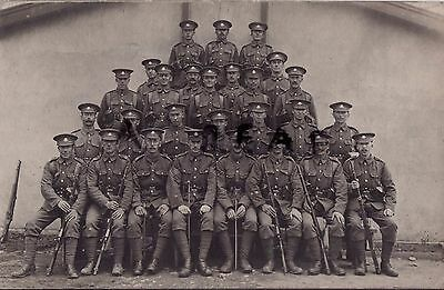 WW1 Soldier group 7th Worcesters Worcestershire regiment battle order