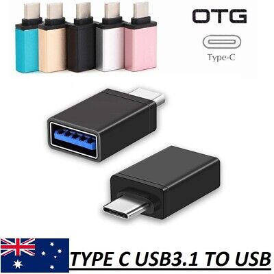 Type C Male USB 3.1 to USB 3.0 A Female Converter USB C OTG Adapter Cable HQ