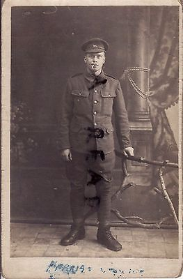 WW1 Soldier Northants Northamptonshire Yeomanry in France