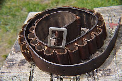 Old English Closed Loop 12 Bore Cartridge Belt