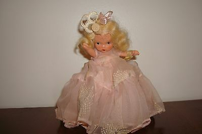 """Nancy Ann storybook doll """"Cinderella"""" pudgy, SS, with tag"""