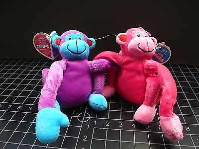 Floppy Friends Forever 2 MONKEYs Plush Toy Stuffed Animal by GMA Access
