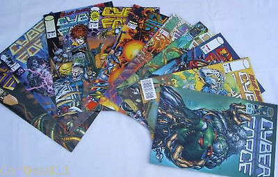 Comic Cyber Force - Lote 10 Numeros