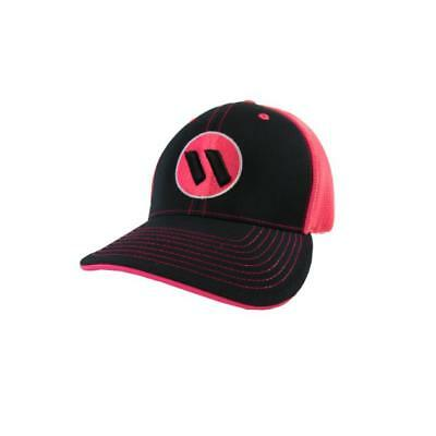 Worth Hat by Pacific 404M BLACK/PINK/BLK/WHITE/PNK SM/MD (6 7/8- 7 3/8), NEW