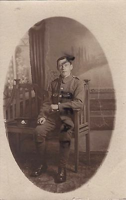 WW1 Soldier Cheshire Regiment TF Territorial Northampton photographer