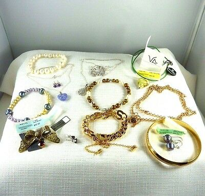 Bulk lot of assorted  jewellery x 13