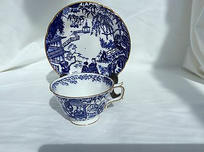 Royal Crown Derby  Mikado china cup and saucer