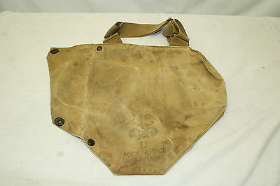 Genuine United States Army Service Gas Mask Haversack World War Two