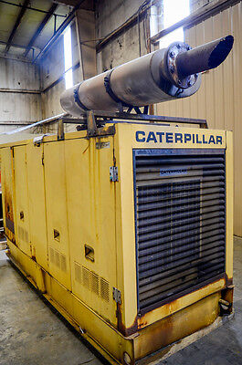 200kW Caterpillar Standby Diesel Generator, Loadbank Tested - Running Takeout!