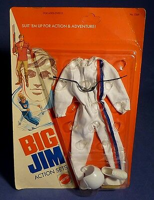 BIG JIM 7349 Action Set Race Car Driver Outfit MIB OVP Rennfahrer MATTEL F177