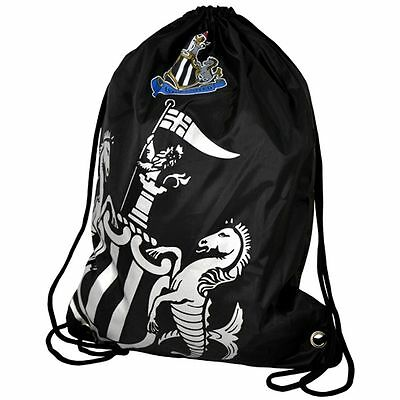 Newcastle United FC Foil Print Gym Bag Official Licensed Football Club Team