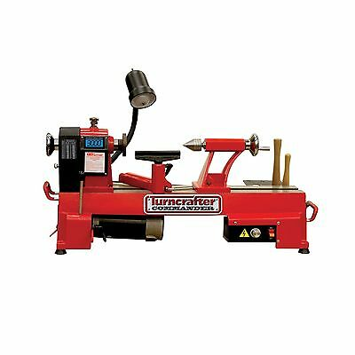 """PSI Woodworking KWL-1018VS Turncrafter Commander 10"""" Variable Speed Midi Lathe"""