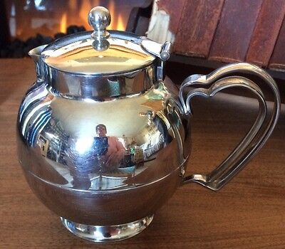 Old Hall Stainless Steel Hot Water pot/jug Cottage design, globe shaped.