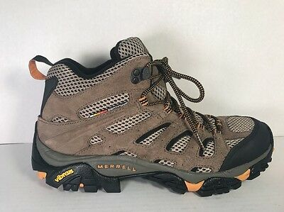 Merrell Men's Moab Ventilator Mid Hiking Boots J86593 Size: 9.5