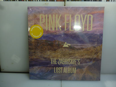 Pink Floyd-The Zabriskie's Lost Album. Rarities.-Pale Yellow Vinyl Lp-New.sealed