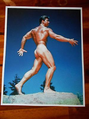 Bodybuilder LARRY SCOTT muscle WESTERN PHOTOGRAPHY GUILD photo